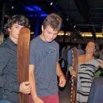 Dangerous duo Josh Briant and Talyor Garcia with Rabbit
