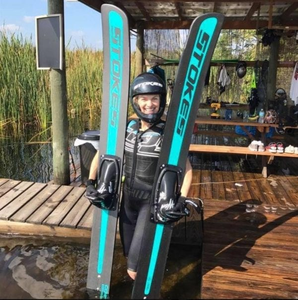 Stokes Skyliner Jump Skis-320