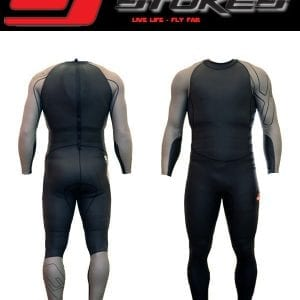 Velocity Speed Suit - Black/Silver-0