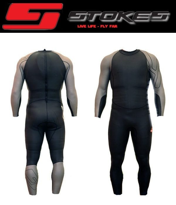 Velocity Speed Suit - Black/Silver-0