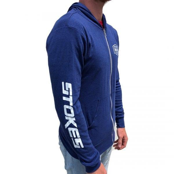 Stokes Blue hoodie-310